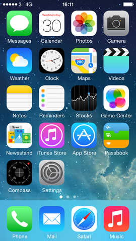Flat Design no IOS 7.1